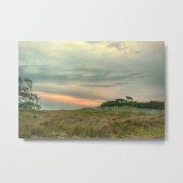 Barrier Island Sunset Metal Print
