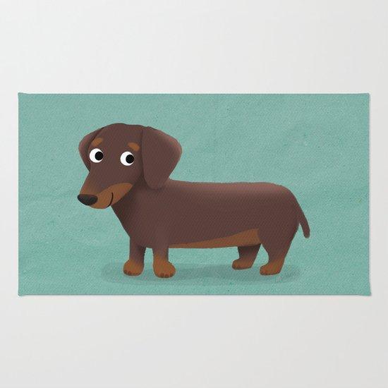 Dachshund - Cute Dog Series Rug