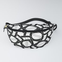 Links in Circles Fanny Pack