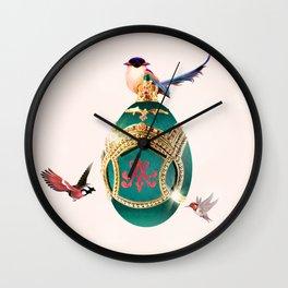 I Sh*t Faberge Wall Clock