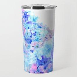 mountain of hydrangea Travel Mug