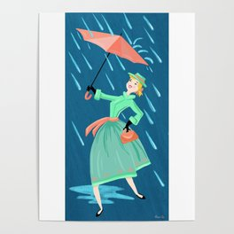 April Showers Bring May Flowers Poster