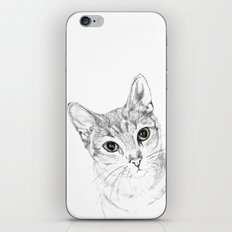 A Sketch :: Cat Eyes iPhone & iPod Skin