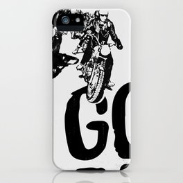 The Horde Motorcycle Art Print iPhone Case