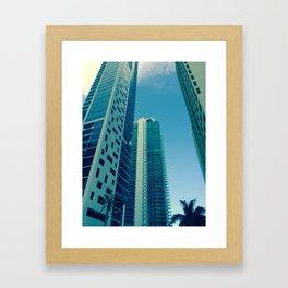 Triple Framed Art Print