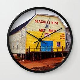 Seagulls Nest in North-Rustico PEI Wall Clock
