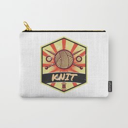 Knitting Propaganda | Knit Wool Hobby Carry-All Pouch