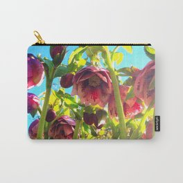 Bright Hellebores Carry-All Pouch