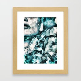 Lady from the water Framed Art Print