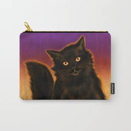 Cat Spirit of Halloween Carry-All Pouch