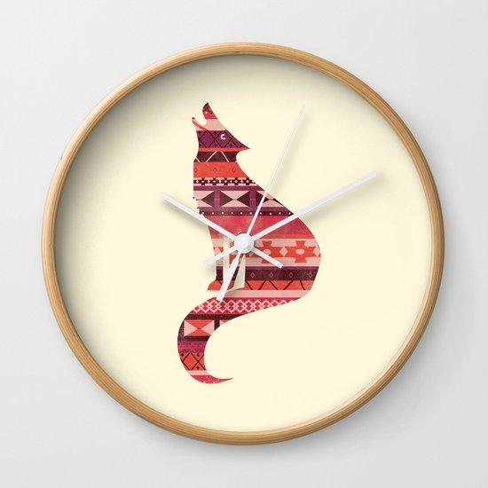 Native Song Wall Clock