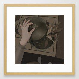 love spell Framed Art Print