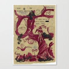 Marina Militare #2 Canvas Print