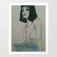 Femme Fatale V Art Print