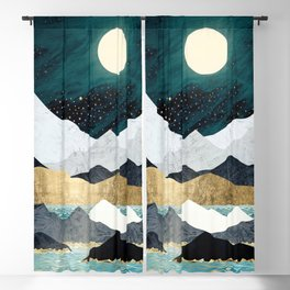 Ocean Stars Blackout Curtain