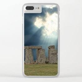 Stonehenge IV Clear iPhone Case