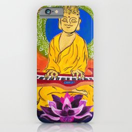 Jammin Buddha iPhone Case
