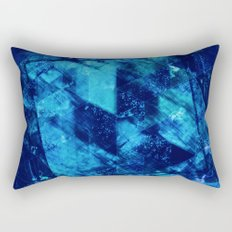 Abstract Geometric Background #23 Rectangular Pillow