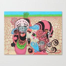 underground production Canvas Print
