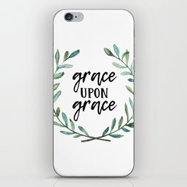 Grace Upon Grace iPhone Skin