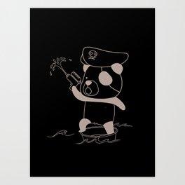 Captain Jack Spanrow Art Print
