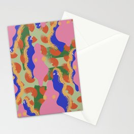 Abstract VI. - We are all the same in different way Stationery Cards