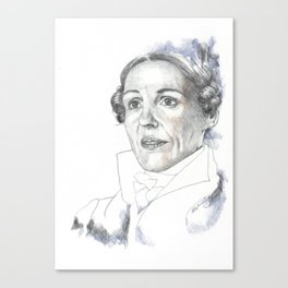 A Yorkshire Lady of Renown Canvas Print