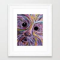 schnauzer Framed Art Prints featuring Schnauzer by EloiseArt