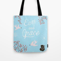 'Ease and Grace' Tote Bag