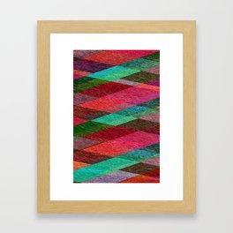 Construction Paper Framed Art Print