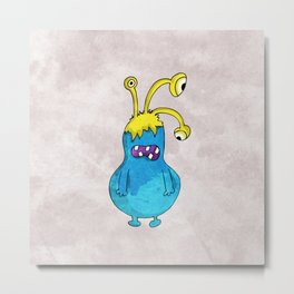 Monster Metal Print