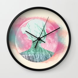 Unfolded dream Wall Clock