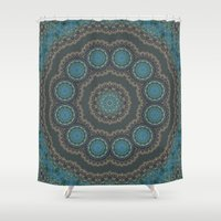 greece Shower Curtains featuring Greece  by T.Res