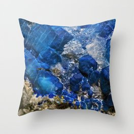 Afghanite Throw Pillow