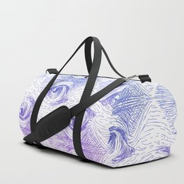 Staring Into Space Duffle Bag