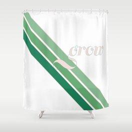 Grow Greens Shower Curtain
