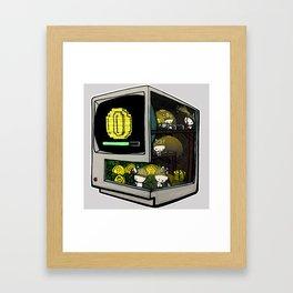Bitcoin Bunnies Framed Art Print