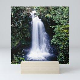 Beyond Remote Waterfall In Papua New Guinea Highlands Mini Art Print
