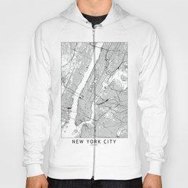 New York City Map Hoody