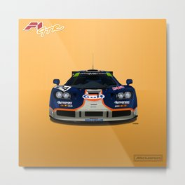 McLaren F1 GTR #02R - 1995 Le Mans 4th place - Front View Metal Print