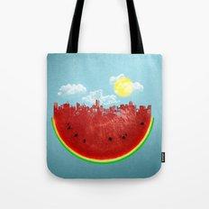 Watermelon City Tote Bag