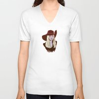 coven V-neck T-shirts featuring Zoe Benson / American Horror Story: Coven by Lauren C Skinner