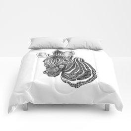 Aztec zebra Comforters
