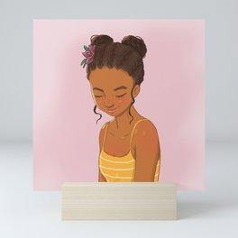 Perfect Braids Mini Art Print