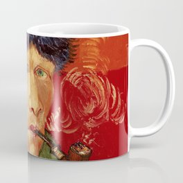 Vincent van Gogh Self-portrait with Bandaged Ear and Pipe Coffee Mug