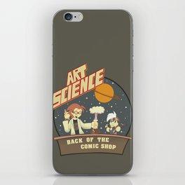 Art Science iPhone Skin