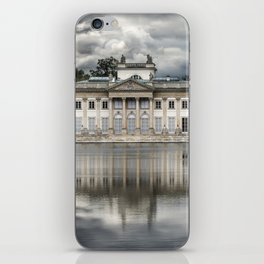 Pretty palace in Warsaw iPhone Skin