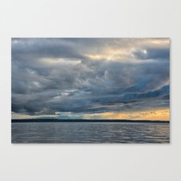 Sunbeams through the Rain Canvas Print