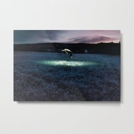 Gods or Monsters? Metal Print