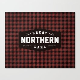 Great Northern Lake Canvas Print